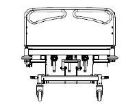 Manual Hospital Bed M410